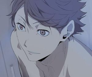 anime, haikyuu!!, and oikawa image
