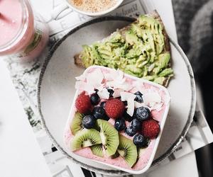 berries, food, and breakfast image