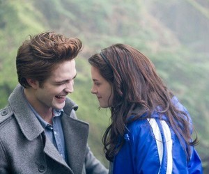 twilight, kristen stewart, and robert pattinson image