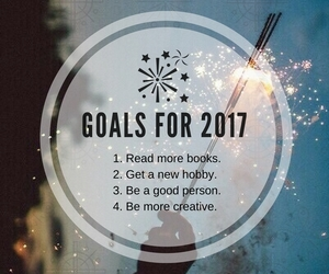 fireworks, happy new year, and goals image