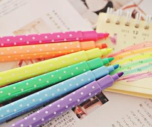 cute, colors, and kawaii image