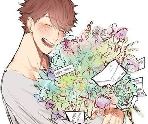 anime, haikyuu, and oikawa tooru image