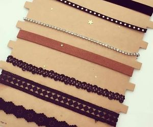 accessories, chokers, and fashion image
