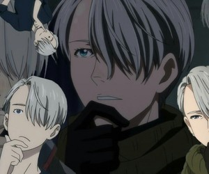 anime, yuri on ice, and victor nikiforov image