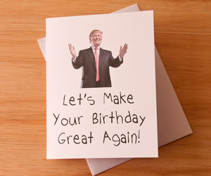 etsy, quirky, and happy birthday card image