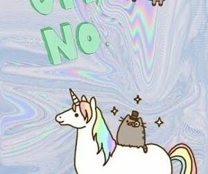 unicorn and pusheen image