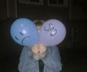 balloons and grunge image