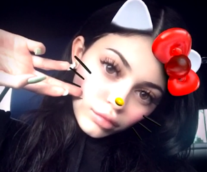kylie jenner, icon, and snapchat image