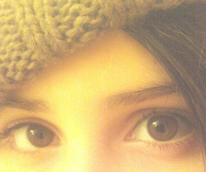 cold, green eyes, and winter image
