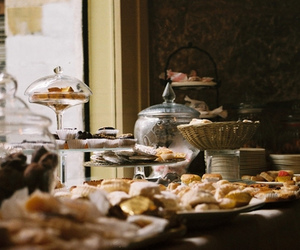 biscuits and tea image