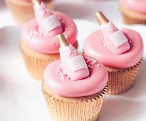 bubbly, cake, and celebrate image