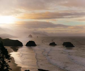 sky, sea, and beach image