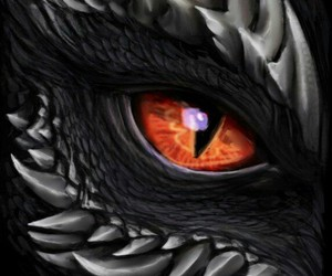 dragon, fantasy, and eyes image