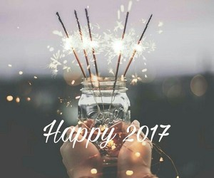 2017, light, and new year image