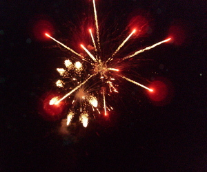 colors, fireworks, and happy image