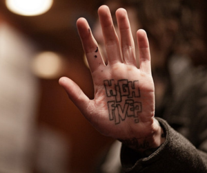 high five, oliver sykes, and tattoo image