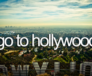 hollywood, travel, and before i die image