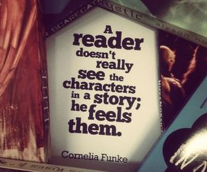 book, feel, and character image