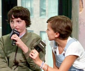 millie brown and finn wolfhard image