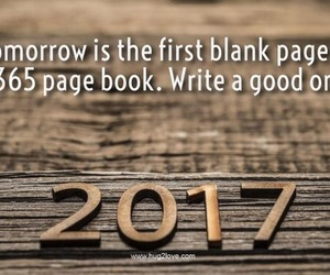 new year, 2017, and december image