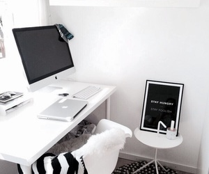 home, design, and desk image