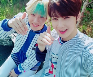 astro, jinjin, and eunwoo image