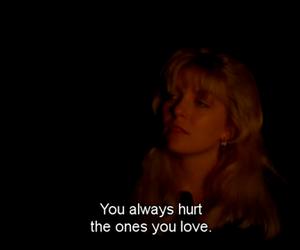 hurt, Twin Peaks, and love image