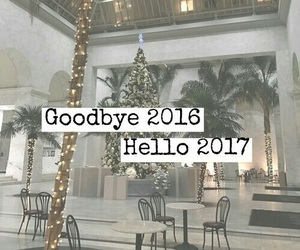2017, new year, and 2016 image