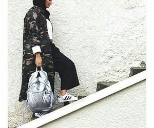 hijab street fashion image