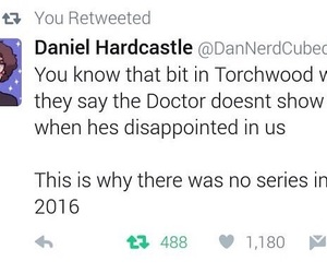 2016, doctor who, and funny image