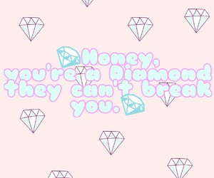 college, diamond, and staystrong image