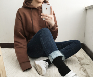 asian, casual, and tumblr image