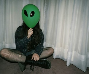 alien, tumblr, and grunge image