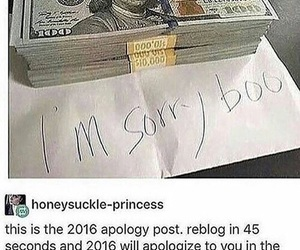 2016 and apology image