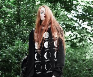 fashion, goth, and grunge image