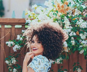 afros, curly, and hair image