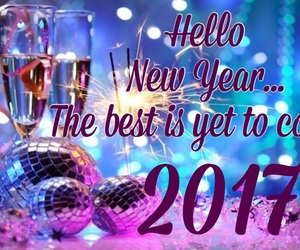 happy new year, new year, and start image