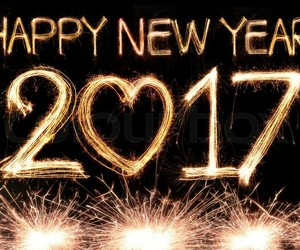 2017 and happy new year image