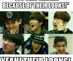 exo, exo showtime, and kpop image