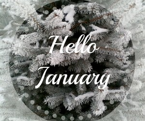 winter, 2017, and hello january image