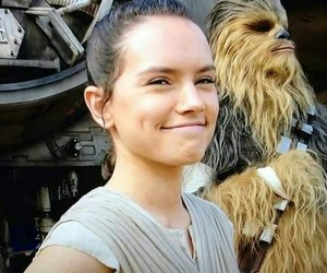 star wars, daisy ridley, and the force awakens image