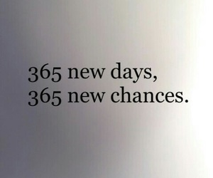 new year, chance, and 365 image