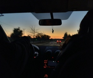 photography, tumblr, and late night drive image