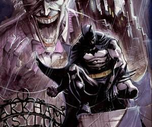 batman, bruce wayne, and joker image