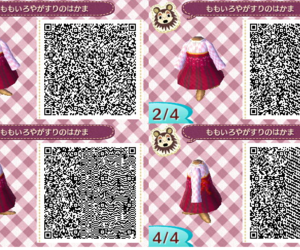 acnl, animal crossing, and qr code image