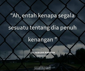 quotes, wattpad, and puisi image
