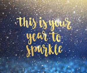 new year, 2017, and sparkle image