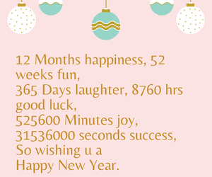 happy new year, holiday, and new year image