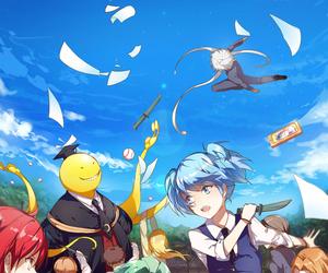 assassination classroom, anime, and anime girl image