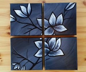 art for sale, flower wall decor, and kayz attic image